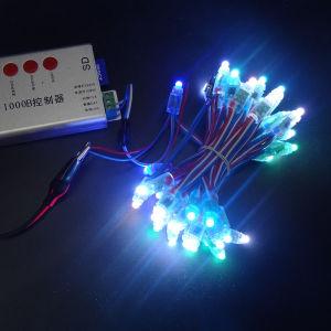 LED-Feiertags-im Freien bunte Weihnachtsdekoration-feenhaftes Zeichenkette-Licht