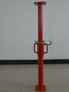 Armatura telescopica registrabile resistente della costruzione del puntello