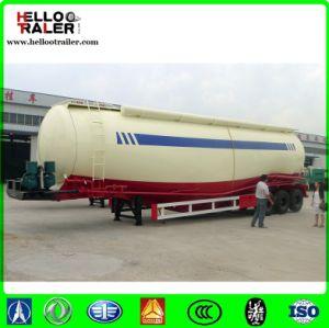 40 디젤 엔진 전기 모터를 가진 톤 3 차축 시멘트 Bulker 트레일러