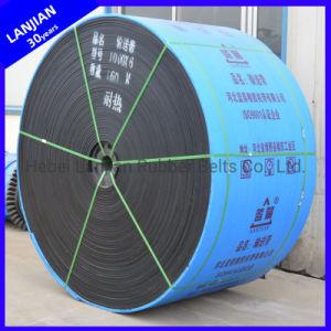 La alta temperatura EP Goma Heat-Resistant planta de cemento de la cinta transportadora