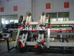 Fenêtres en aluminium de machine(aluminium quatre coin de la tête de sertissage) de la machine