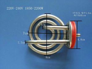 De elektrische het Verwarmen van de Ketel van het Roestvrij staal van het Ijzer Warmhoudplaat van het Element