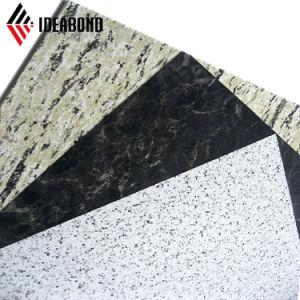 ショールームの装飾のための黒い貴重品箱パターン石ACP