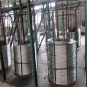 Filo rivestito del filo di acciaio della lega di alluminio dello zinco del cavo elettrico
