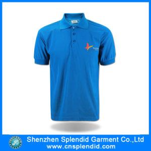 Buon Quality Plain Men Polo T-Shirt con Printing Logo
