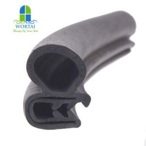 Protetor de Borda flexíveis Extrusados Embelezador de folhas de borracha EPDM a fita de vedação da porta de vidro fita de vedação de borracha
