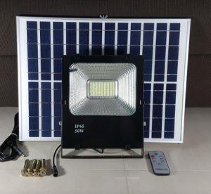 2018リモートが付いている太陽庭ライトOutdopor 50W 60W太陽LEDの洪水ライト