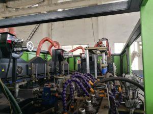 2つのキャビティプラスティック容器の自動放出の打撃形成機械製造業者
