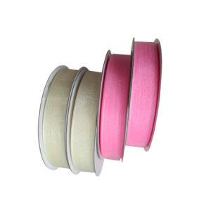 Hot de colorida de cinta de organza de raso
