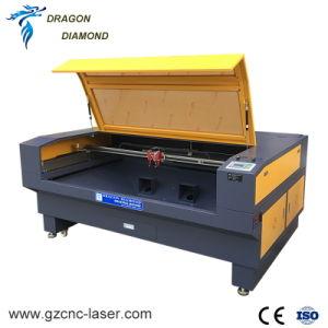 고속 1610 직물 가죽 아크릴을%s 두 배 헤드 Laser 조각 절단기