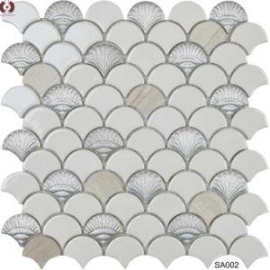 建築材料の陶磁器のガラス大理石のモザイク壁のタイル(SA001)