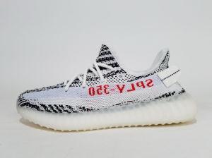2018 Impulsar 350 V2 blanco crema Sply-350 Zebra CP9654 de alta calidad Kanye West 350 V2 Boost instructores Seankers hombres zapatos deportivos zapatos de los hombres con una caja de recepción
