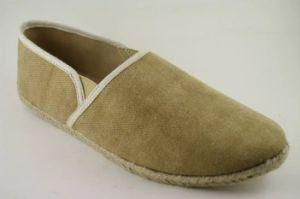 Los hombres Zapatos de lona superior marrón clásico