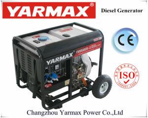 Yarmax Luft abgekühltes geöffneter Rahmen-Dieselgenerator-Set Genset Ym6500ea