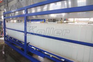 5toneladas/dia de bloqueio automático da máquina de gelo sem água salgada para congelamento (DK50)