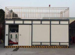 40FTの販売のためのスキッドによって取付けられる燃料の容器のガソリンスタンド