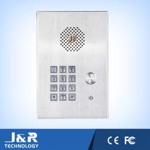 Элеватор в чрезвычайных ситуациях, телефона Hands Free из нержавеющей стали, беспроводной телефон внутренней связи