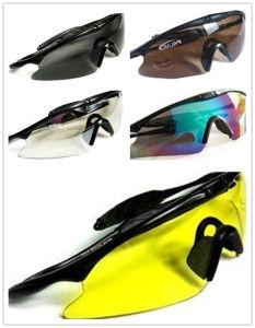 5-Colors тактическое Airsoft резвится изумлённые взгляды стрельба полиций предохранения от стекел UV400
