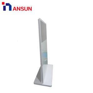 높은 광도를 가진 전시를 광고하는 LCD 디지털을 서 있는 주문을 받아서 만들어진 지면