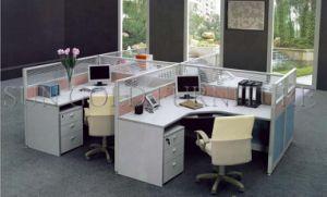 Oficina Oficina Modular de aluminio moderna estación de trabajo de la partición de armario (SZ-WS303)