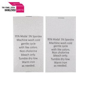 베개 또는 입기를 위해 인쇄하는 공장 가격 세척 배려 레이블