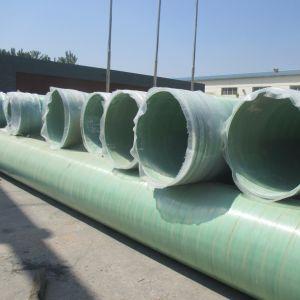 Tubo ad alta pressione ad alta resistenza dell'acqua di acque luride GRP con superficie regolare