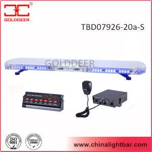 Ziekenwagen Car Blue LED Light Bar met 100W Speaker (tbd07926-20a-s)