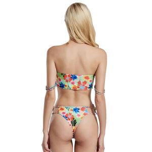 Sexy Bikini de maillots de bain en polyester pour la plage