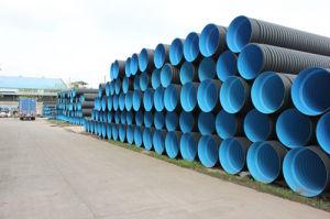 Grote Plastic HDPE Dubbele Muur GolfPE van de Pijp van de Drainage Buis