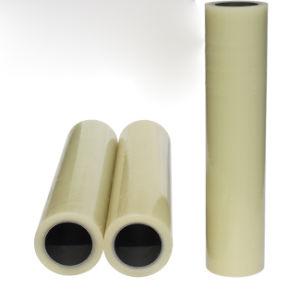 Venta caliente azul/Transparente película de protección de plástico PE