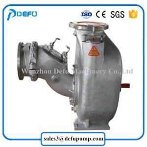 Motor diesel de 8 polegadas de bombas de esgoto de escorva automática