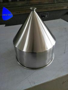 Trechter van de Verpakking van het roestvrij staal de Kegel met het Verzegelen van het Deksel