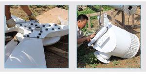 Eixo Horizontal 10kw turbina eólica 96V 120V 220V Fabricante Fase 3 AC gerador de Íman Permanente