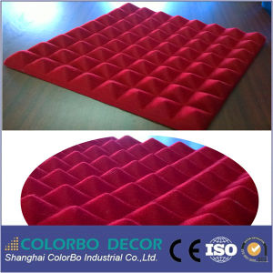 Nouveau design fibre polyester insonorisées Panneau acoustique 3D