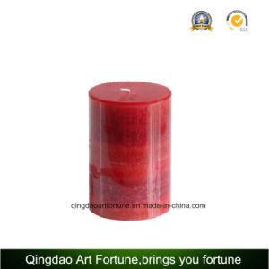 Farbe Change Candle Pillar in Gift Box für Home Decor