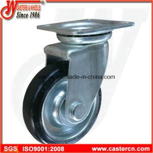 De style japonais Noyau en acier industriel Castor de roue en caoutchouc
