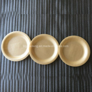 Pique-nique extérieure biodégradable PLA les plaques d'aliments en mousse