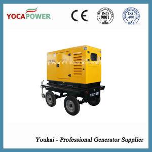 10kw 전기 이동할 수 있는 트레일러 디젤 발전기