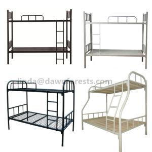 Quarto de preço competitivo Caixa Alta Mobiliário Painéis de armazenagem de ripas sólidas de MDF/cama beliche/Cama de madeira