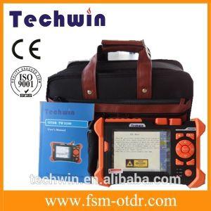 Techwin 3100 die OTDR Optische Gelijke OTDR testen aan Anritsu OTDR