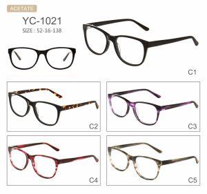 in Frames van Eyewear van de Oogglazen van de Acetaat van het Ontwerp van de Manier van de Voorraad de Hete Verkopende Nieuwe