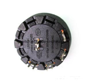 Único Pólo 8 Posições do interruptor rotativo de selecção e o botão