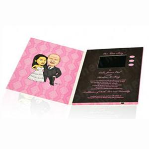 Жк-экран 4.3inch свадебных видео карта