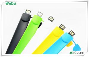 Pulsera de alta velocidad USB Stick con logotipo personalizado (WY-S16).