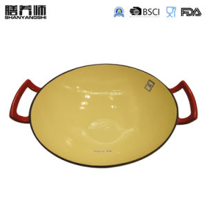 Usine de fonte d'alimentation batterie de cuisine Wok Ustensiles de cuisine