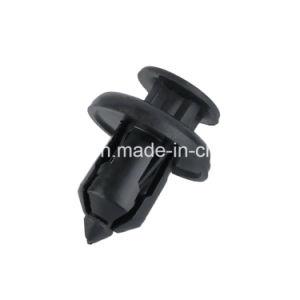 Botón Clip sujetador de plástico de inyección de nylon blanco POM remache de encaje de empuje