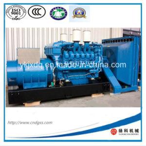 Mtu 1200 квт/1500kvaopen тип генератора дизельного двигателя в режиме ожидания