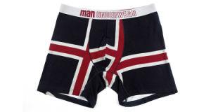 pugili Brief Fashion di 95%Cotton/5%Pendex Men Underwear per 253-Black