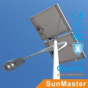 Performances Hige 80 Watt Haut de la baie de la corde solaire Rue lumière à LED