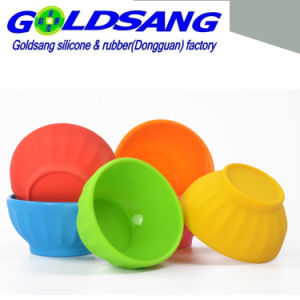 Caramella Color Unbreakable Silicone Bowl per Kids